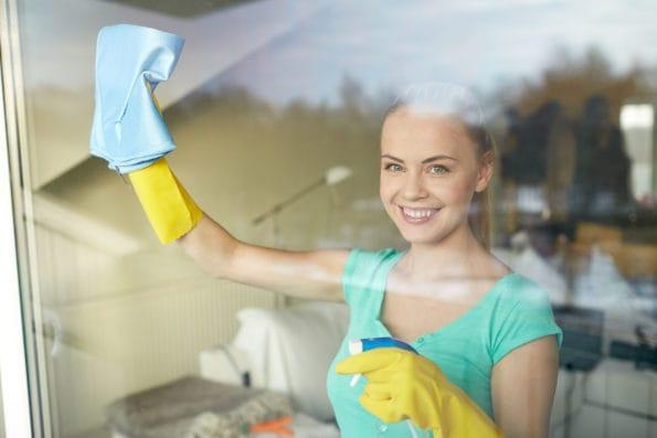 mytí oken na městském úřadě