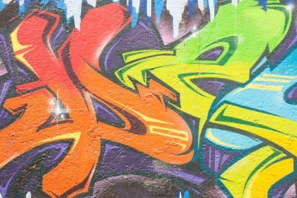 graffiti na zdech
