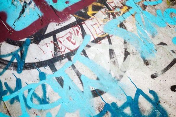 Jak umýt grafitti