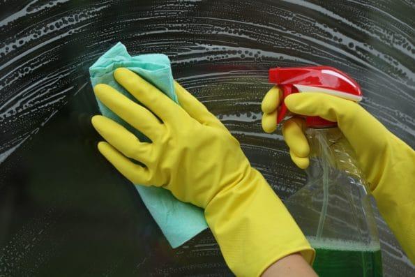 správné umytí oken