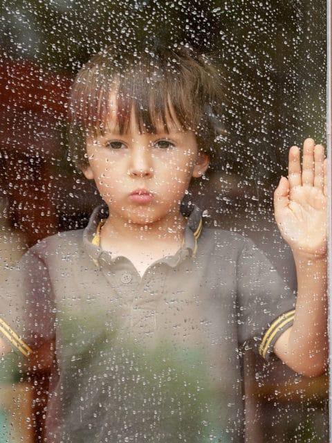 mytí oken ve školce