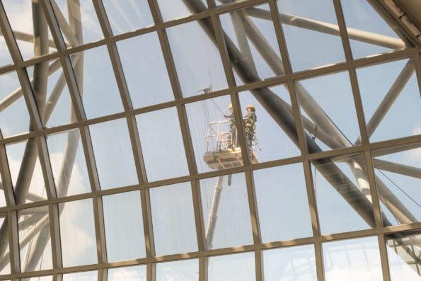 čištění oken ve výškách Praha