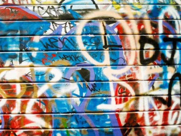 odstranění grafittů