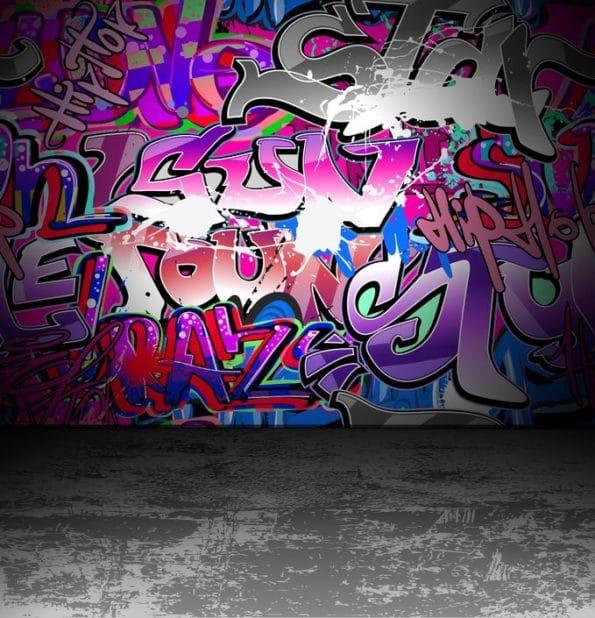 proti barvě na zdi
