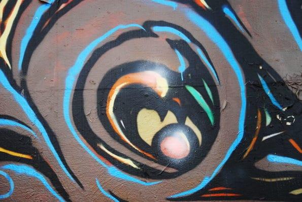 Abstrakce - graffiti
