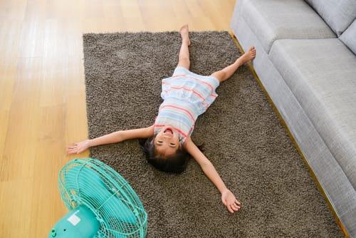 čistý a voňavý koberec