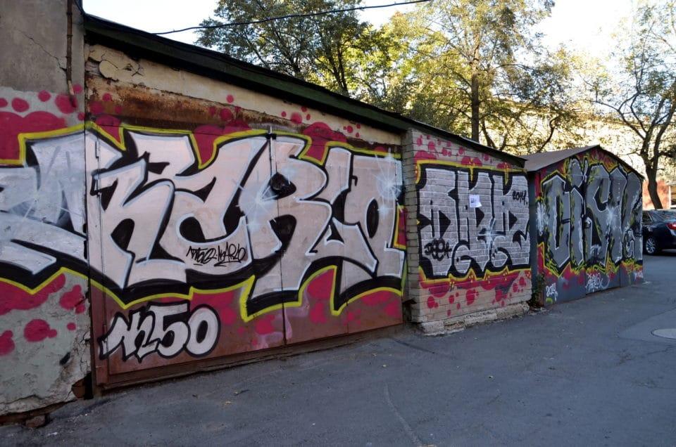 Graffiti, odstraňování Brno