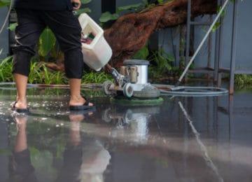 Podlahy Vsetín, čištění